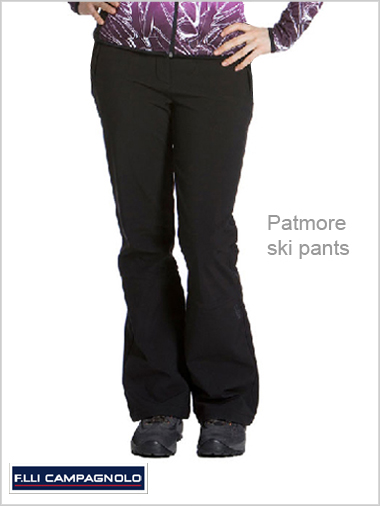 Patmore stretch ski pants (regular and shorter lengths)