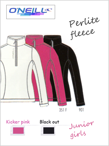 Junior girls - Perlite fleece (only age 8 / 10 now left)