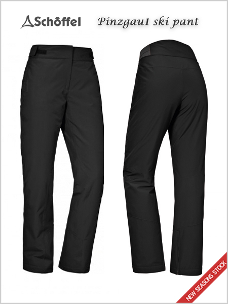 Pinzgau 1 ladies stretch pant - black