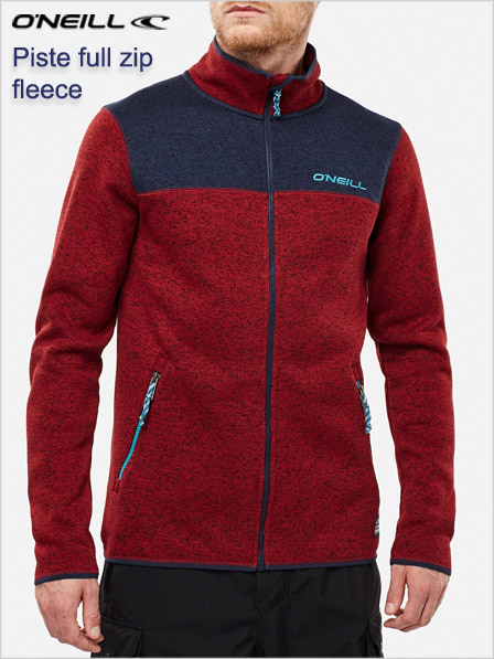 Piste - full zip fleece