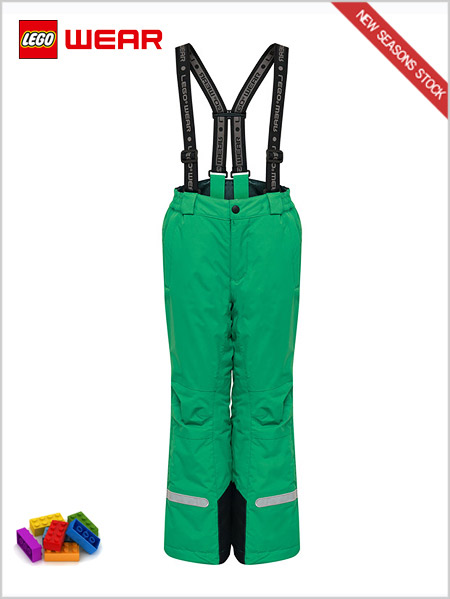 Age 6-10: Platon 709 - LEGO® Wear Tec snow pant - Green
