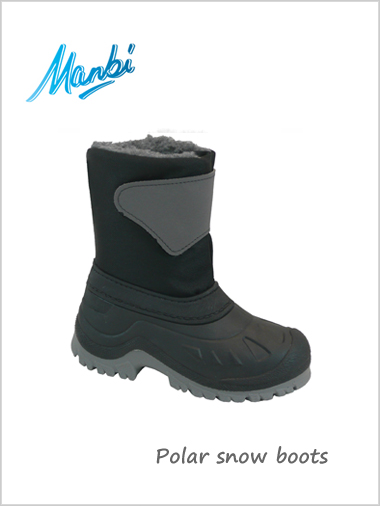 Polar snow boots (Black) - child / junior (only 2.5-3.5 now)