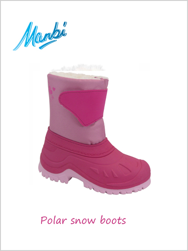 Polar snow boots (Fuchsia) - child / junior