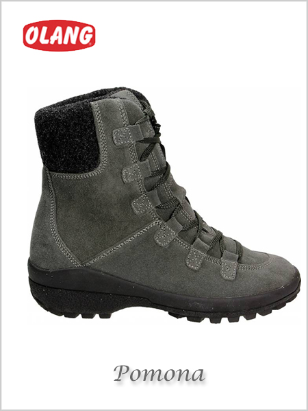 Pomona Bre snow boots - Anthracite (only UK 5 now left)