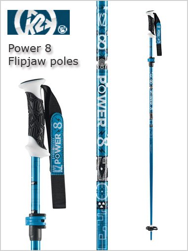 Power 8 flipjaw blue - adjustable length
