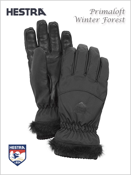 Primaloft Winter forest gloves - black