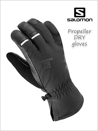 Propeller DRY mens gloves - black