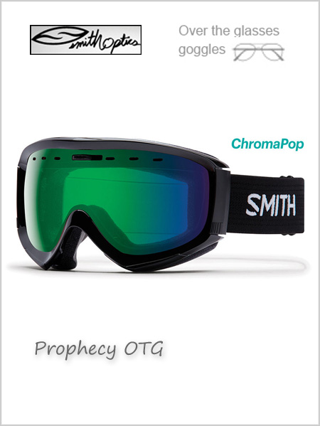 Prophecy OTG - black with Green mirror lens