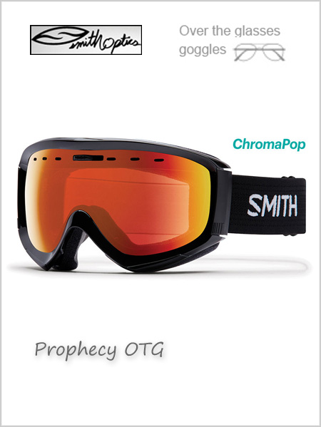 Prophecy OTG - black with Red mirror lens