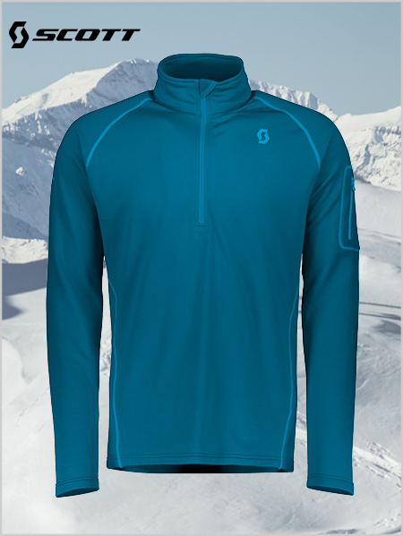 Defined Light Pullover - Lunar blue