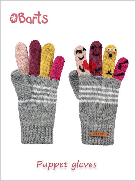 Kids Puppet gloves - knit gloves