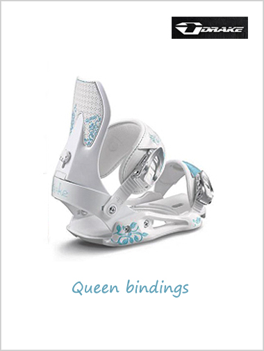 Clearance: Queen - womens snowboard bindings