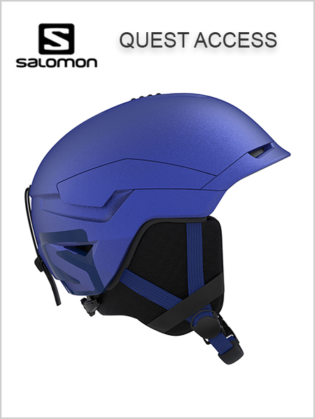 Quest Access helmet - sodalite blue