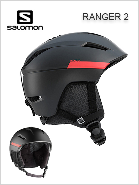 Ranger 2 helmet - black / red (only XL now)