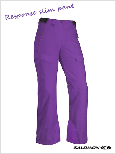 Response slim pant - amethyst (only size 12/14 now left)