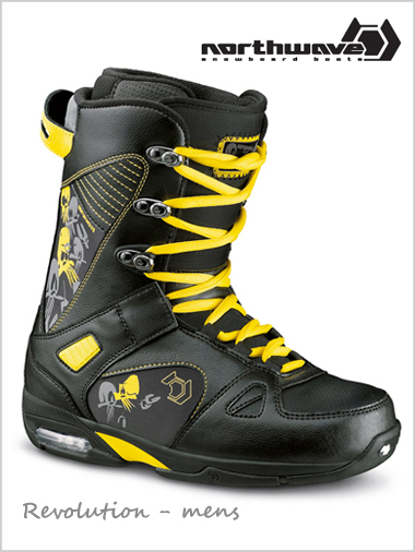 Revolution mens snowboard boot