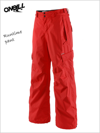 Runtime pant - International red - XL
