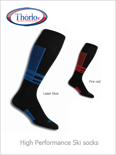 Thorlos High Performance ski socks - ultra thin