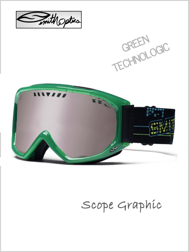 Scope Graphic - green, ignitor mirror lens