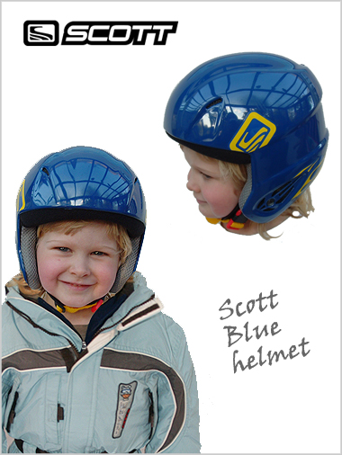 Clearance - Scott USA helmet - blue (junior)