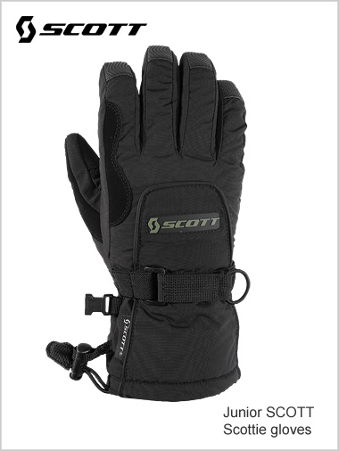Junior: Scott Scottie gloves - black