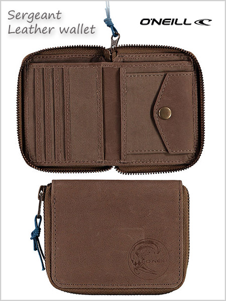 Sergeant leather wallet