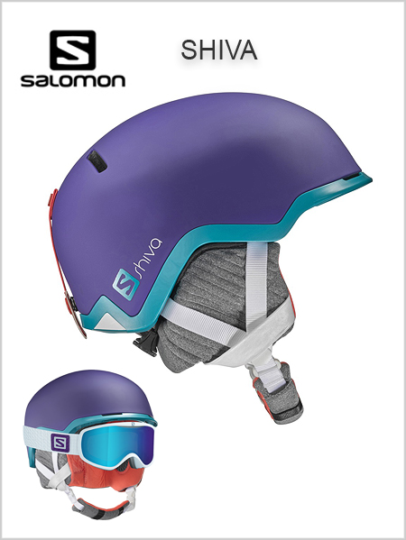 Shiva womens helmet - purple