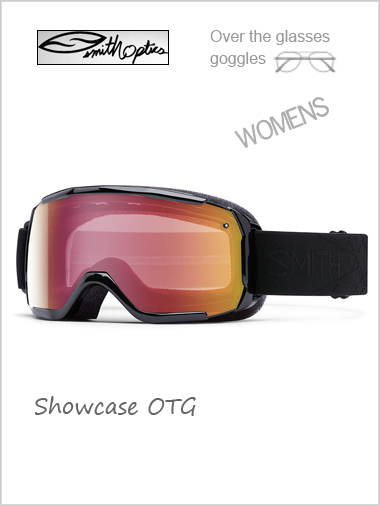 Showcase Womens OTG - black with red sensor mirror