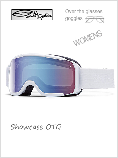 Showcase Womens OTG - white with blue sensor mirror