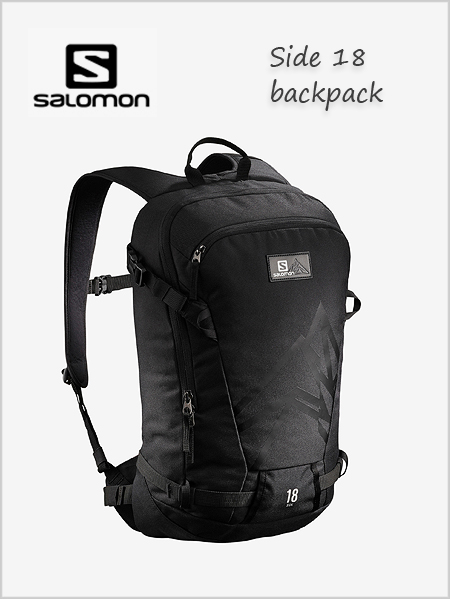 Side 18 backpack - black