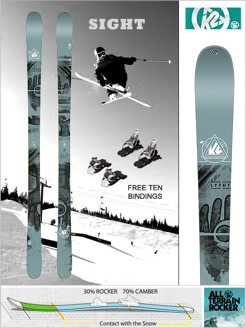 Sight and Free Ten bindings - 2015