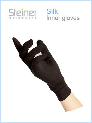 Adult - Silk inner gloves