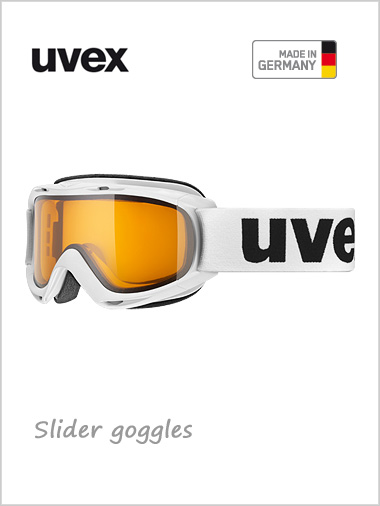 Teenage Slider goggle - white
