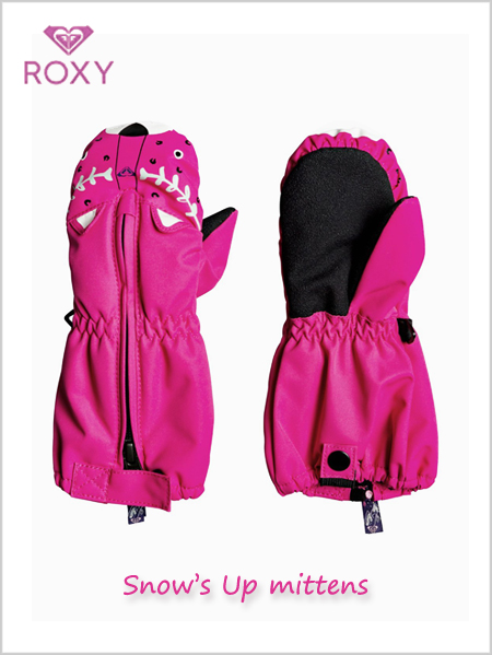 Child: Snow's Up mittens - Beetroot pink (ages 2 - 7)
