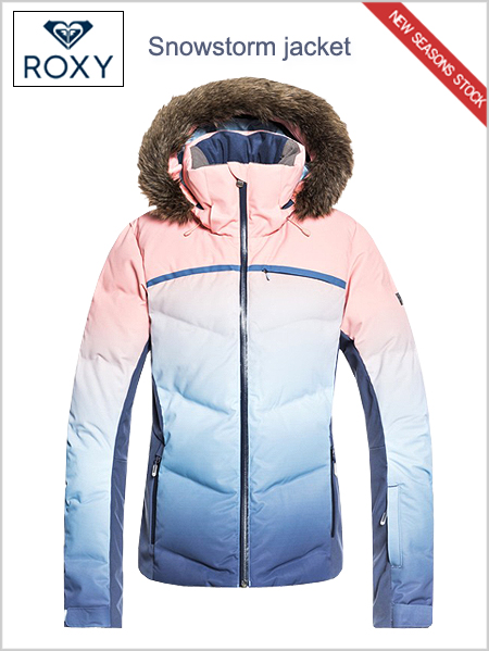 Snowstorm Jacket - Powder blue gradient