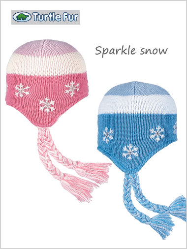 Sparkle snow hat