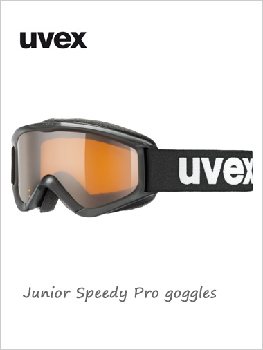 Junior Speedy Pro goggles age 6 - 10Y+ - black