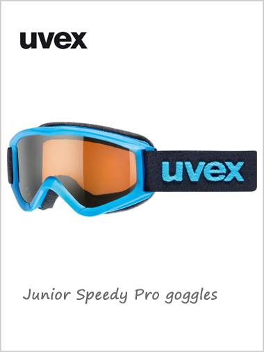 Junior Speedy Pro goggles age 6 - 10Y+ - blue