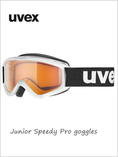 Junior Speedy Pro goggles age 6 - 10Y+ - white