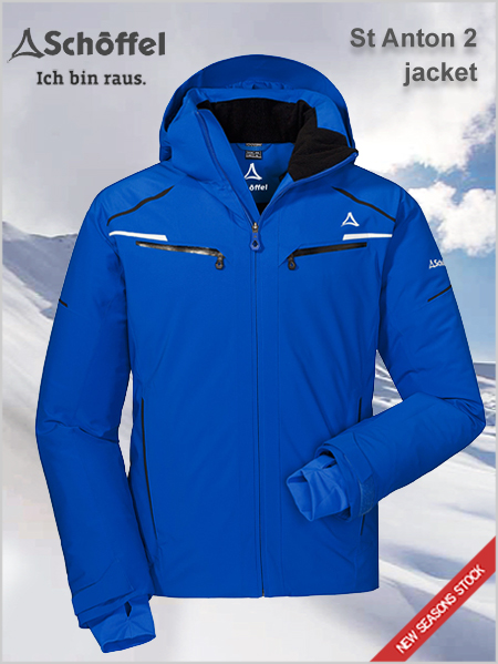 St Anton 2 ski jacket - blue