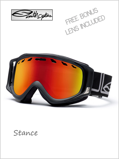 Stance - black foundation + free lens