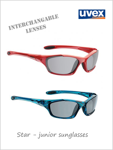 Junior - Star (changable lenses) sunglasses