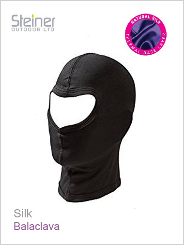 Adult - Silk balaclava