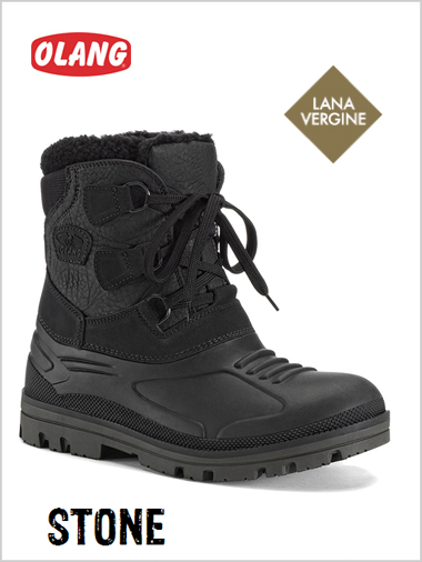 STONE mens snow boots
