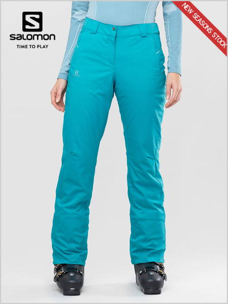 Stormseason pant women - Tile blue