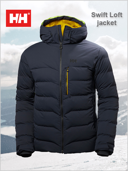 Swift Loft jacket - Graphite blue (only L now left)