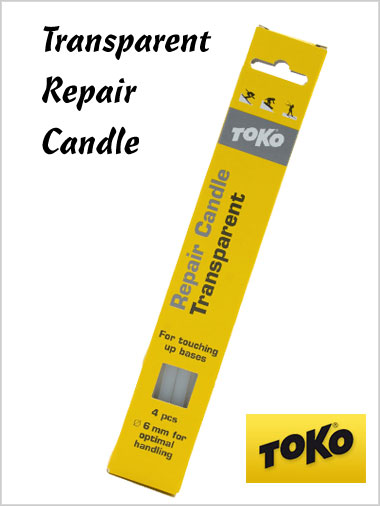 Transparent repair candle