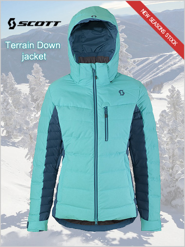 Terrain Down jacket - Bermuda blue