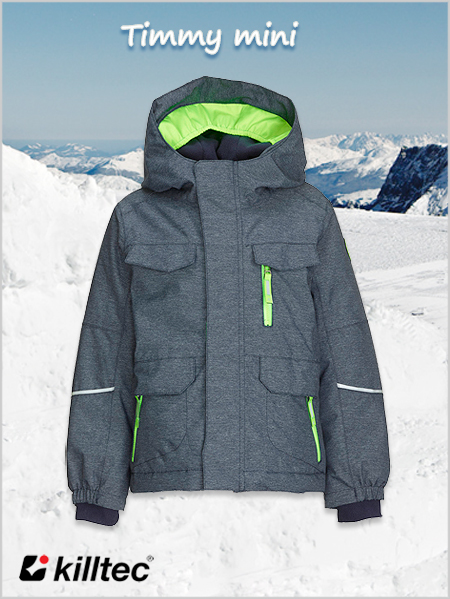 Age 3-6: Timmy Mini boys ski jacket