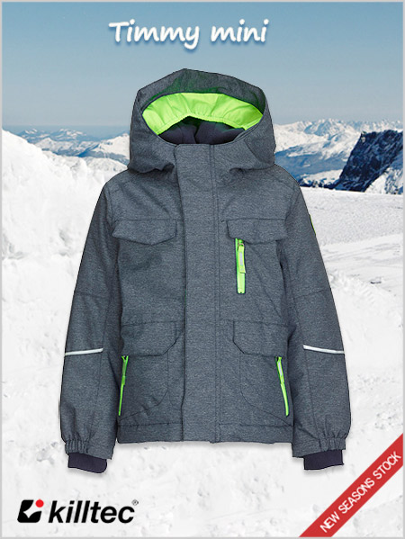 Age 3-8: Timmy Mini boys ski jacket